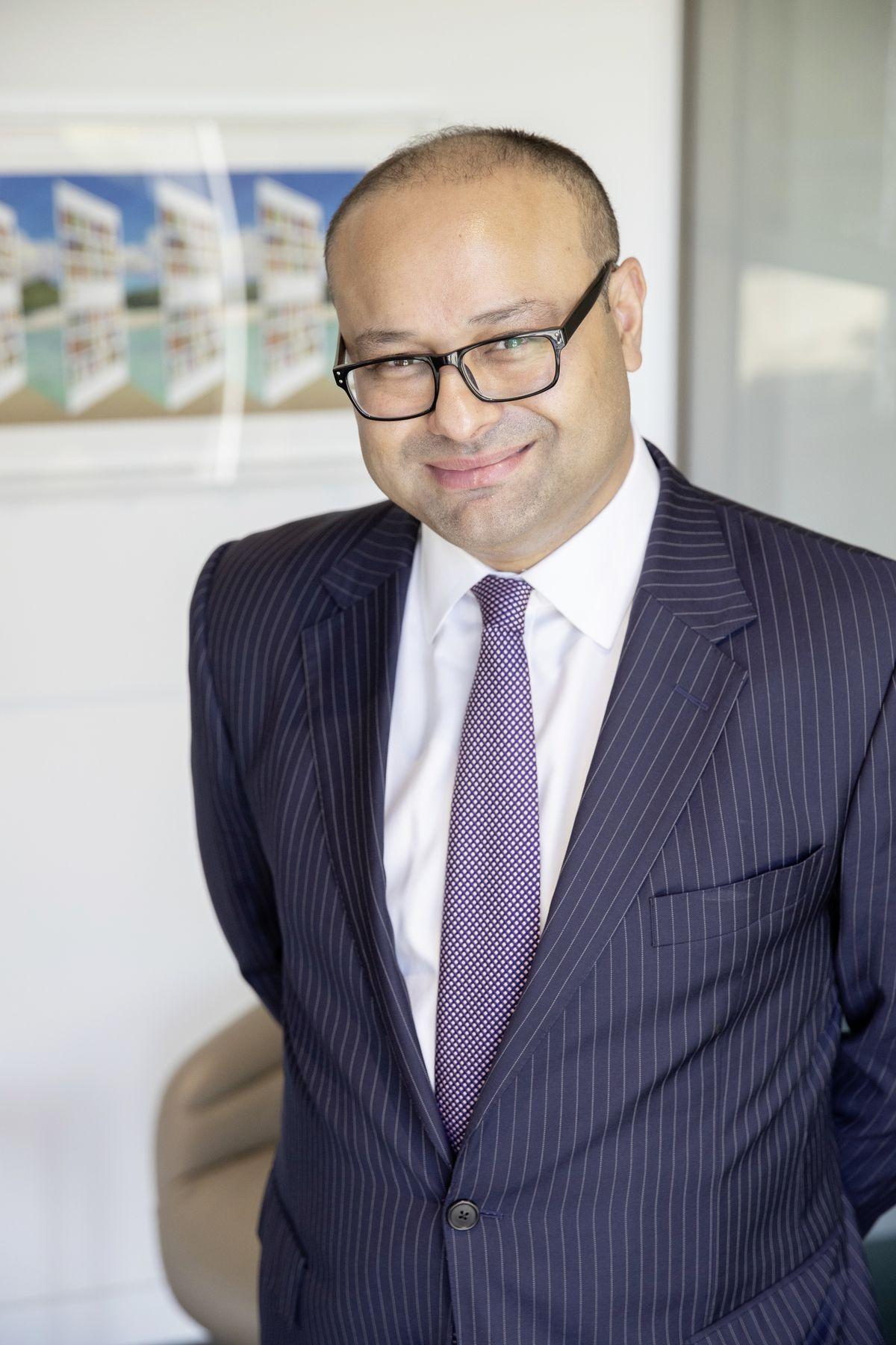 Fahad Kamal, chief investment officer at Kleinwort Hambros.. (28884122)