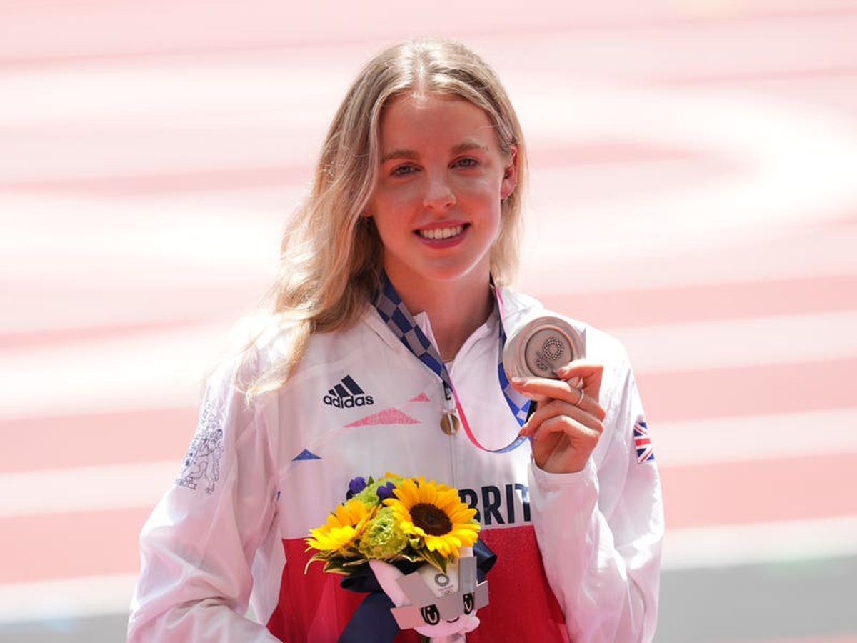 Olympic benefactor hails Keely Hodgkinson's 'incredible' silver medal