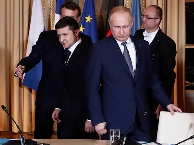 Ukraine and Russia hail peace talks despite lack of breakthrough