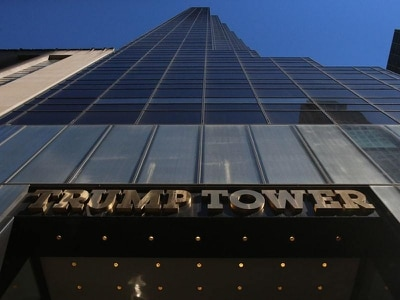 A pizza at Trump Tower is getting attention for all the wrong reasons