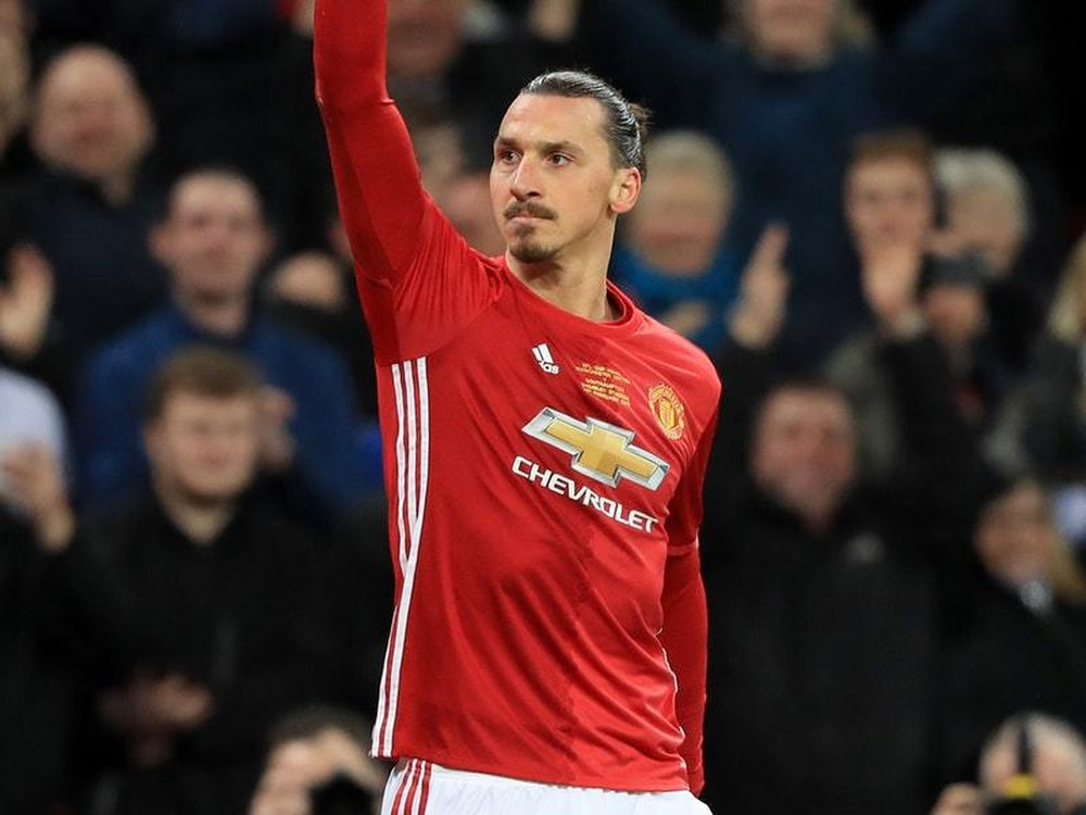 """953843362 Zlatan Ibrahimovic feels """"ready to go now"""" with LA Galaxy after his move to  the Major League Soccer franchise was finally confirmed."""