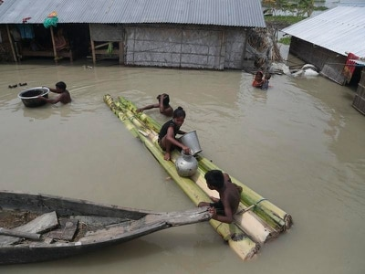 More than 200 people killed in month due to floods and landslides in south Asia