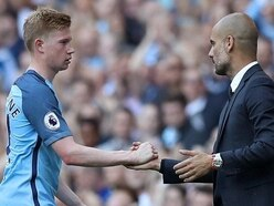Pep Guardiola: De Bruyne must win trophies before reaching Messi's level