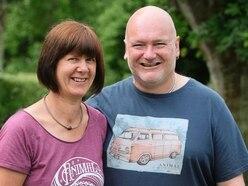 Jenny and Mark Hooper