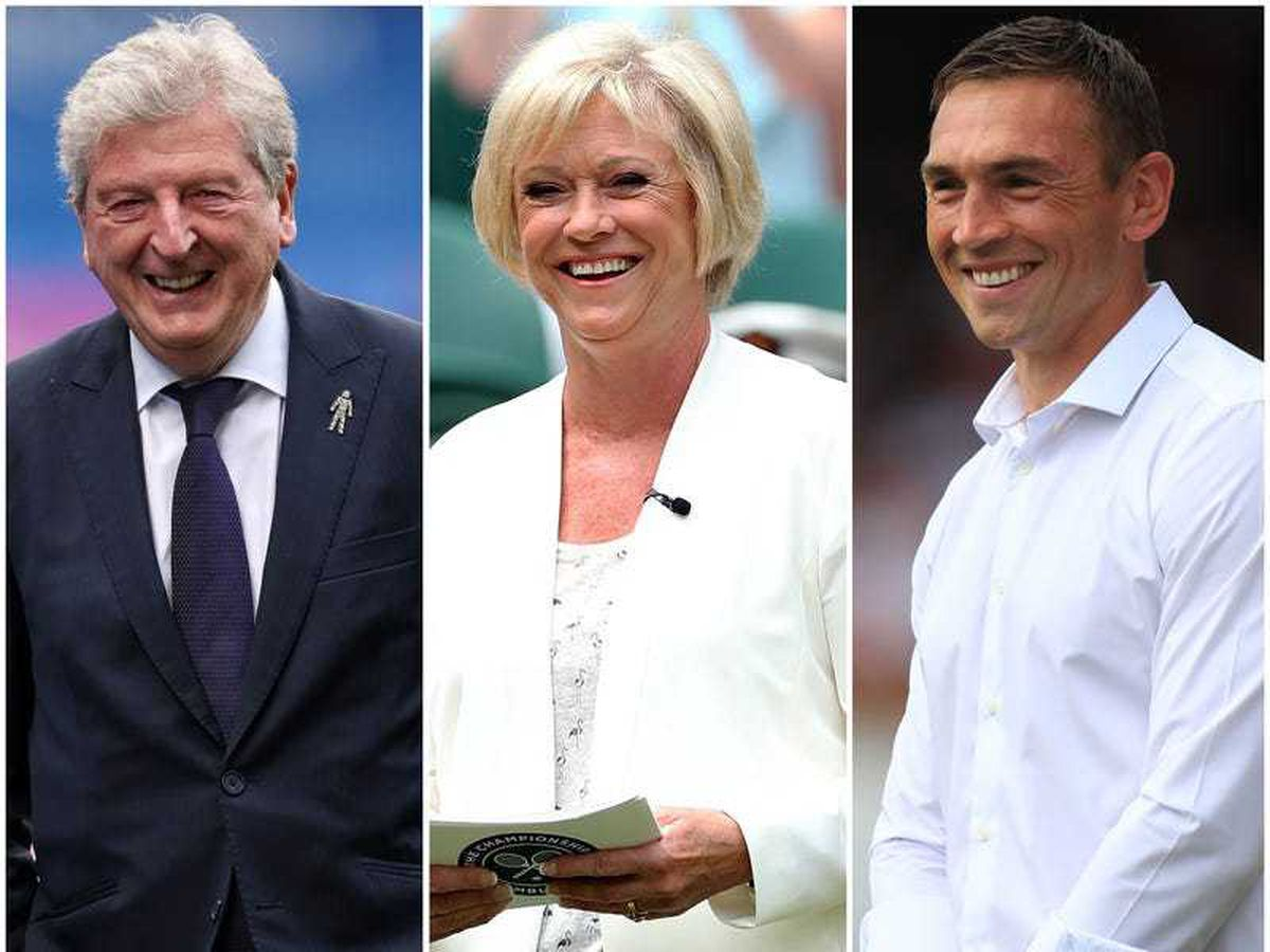Roy Hodgson, Sue Barker and Kevin Sinfield on Queen's Birthday Honours list