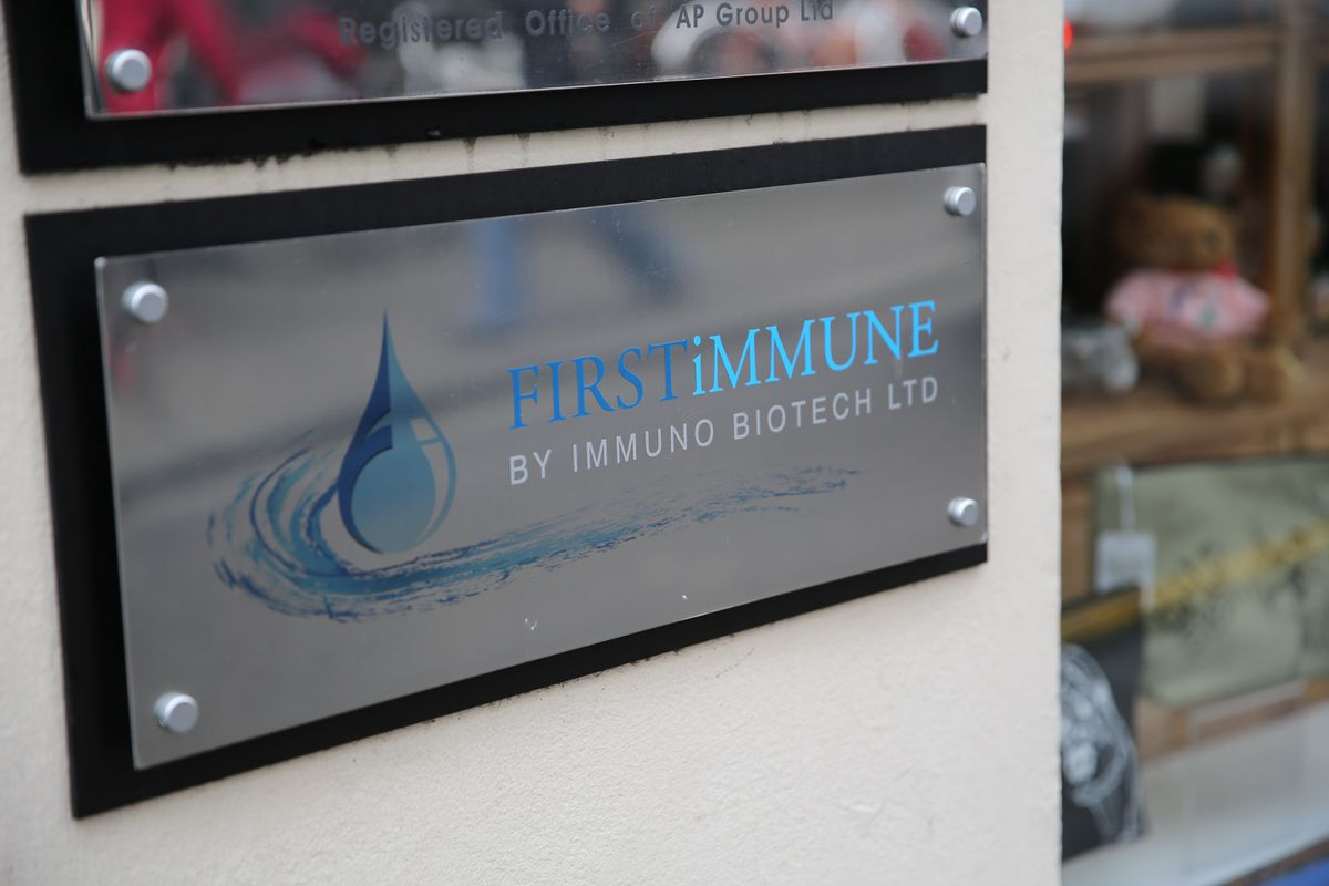 The company behind GcMaf, Immuno Biotech, has been declared insolvent as efforts progress towards recovering a total of more than £300,000 owed to the Income Tax Department. (Picture By Peter Frankland, 21924142)