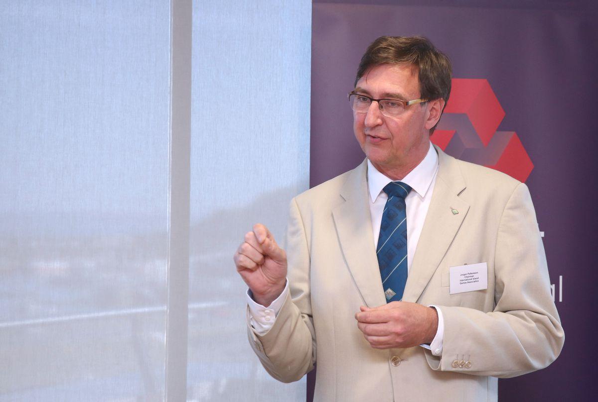 International Island Games Association chairman Jorgen Pettersson. (29740260)