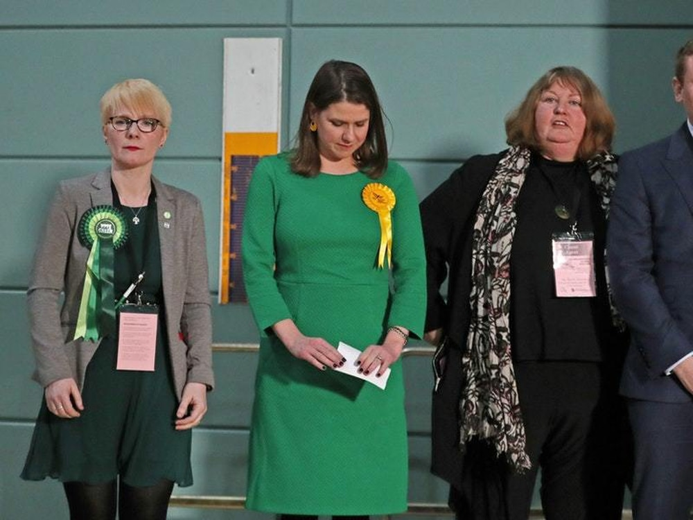 Jo Swinson's campaign to be 'next PM' ends with loss of seat