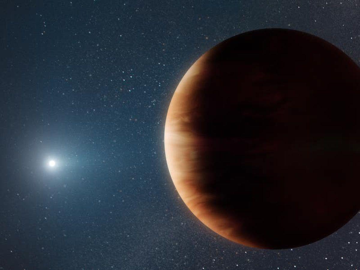 New gas-giant planet found orbiting white dwarf star