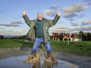 Businessman Guy Hands has added his support to the Jumping in Puddles for Cancer National Charity Campaign (29176615)