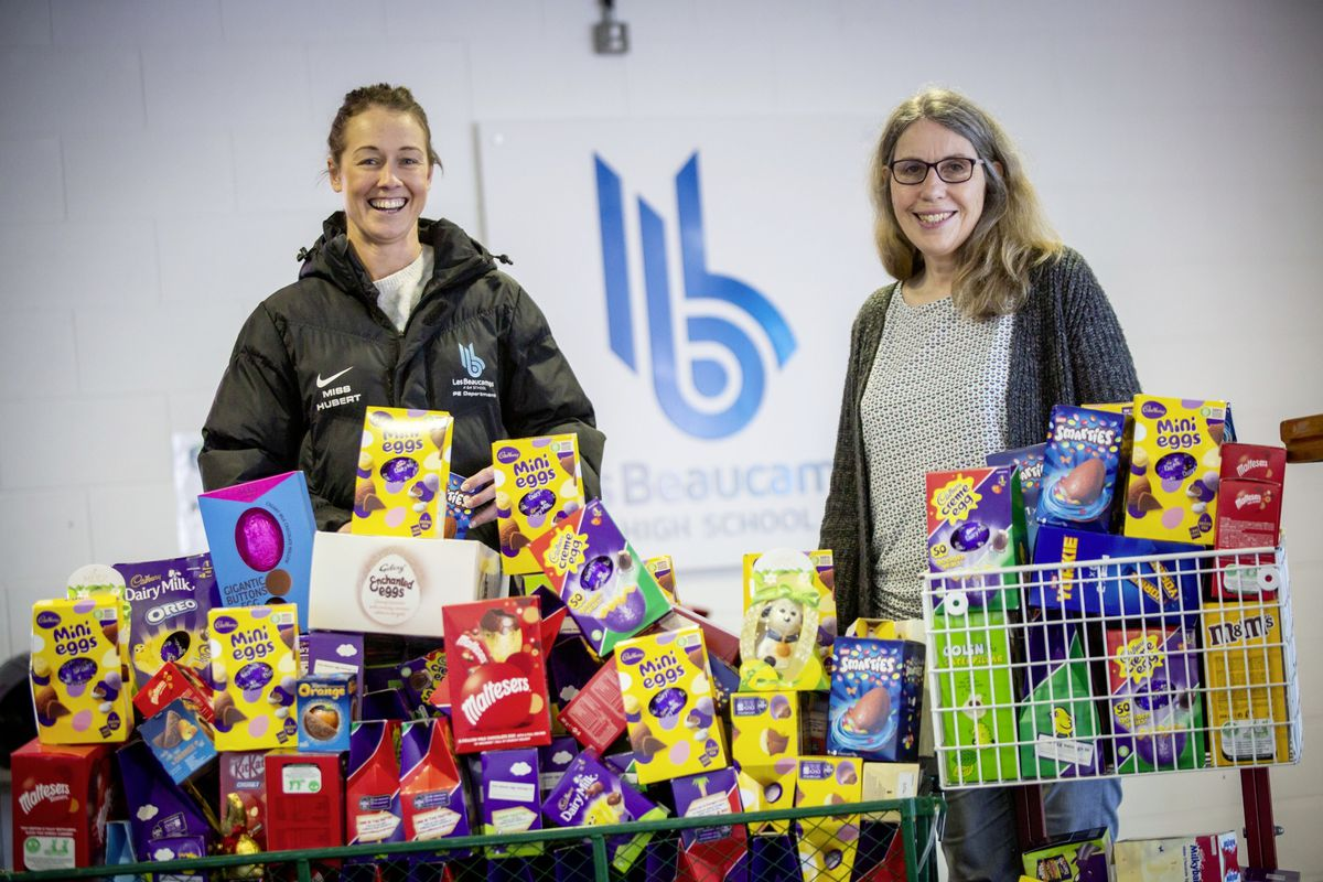 Students donate Easter eggs to welfare service | Guernsey ...