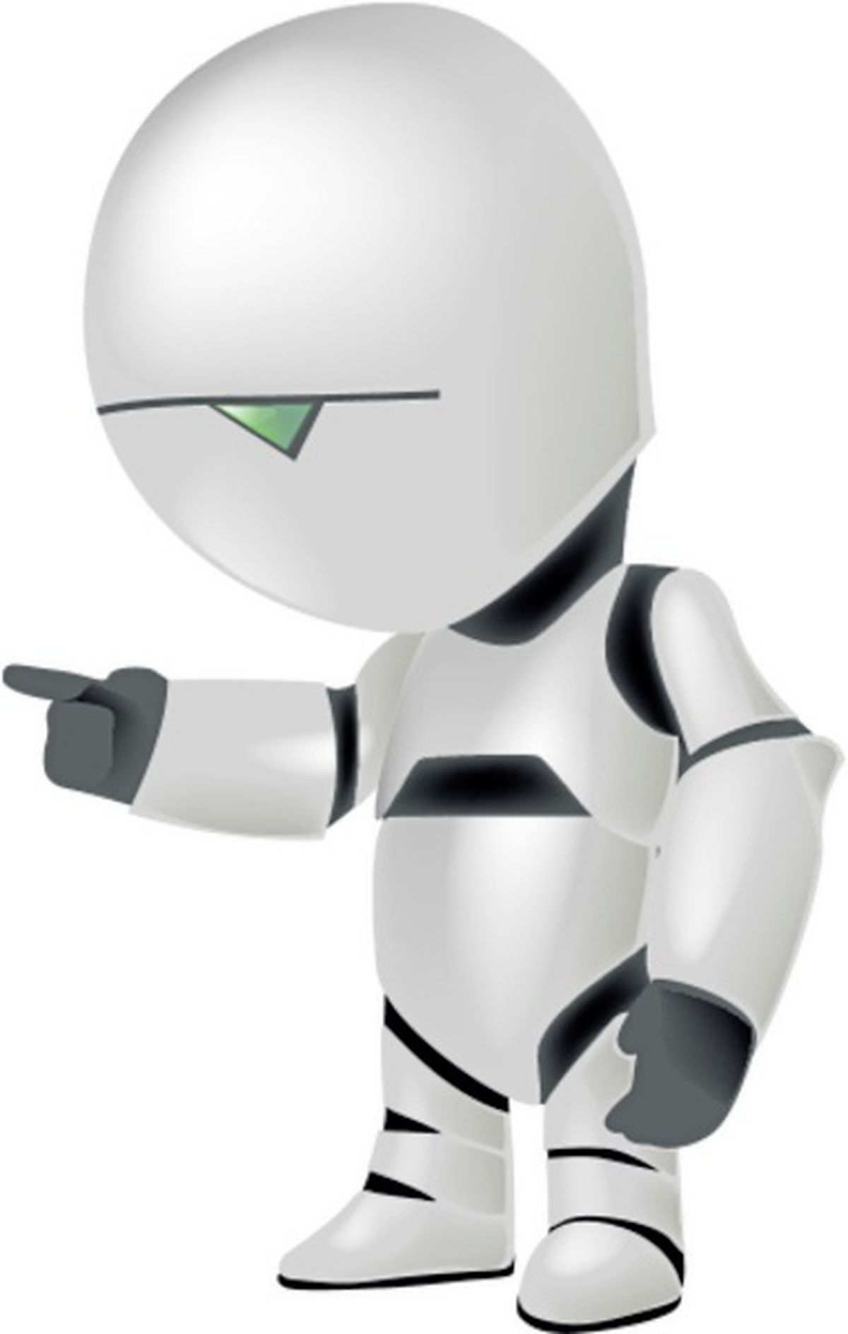 Marvin the paranoid android. (28649005)