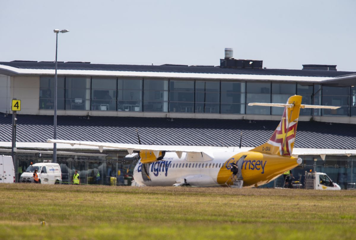 Aurigny has said Southampton is still the lifeline flight. (Picture by Peter Frankland, 28771680)