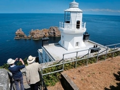 Sark lighthouse picture perfect for a princess
