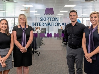 Team expands at Skipton International