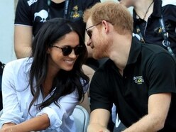 Harry pictured with girlfriend Meghan Markle at Invictus Games