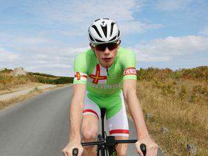 Best cyclist to emerge in years... Sam Culverwell aims to go to the top. (Picture by Adrian Miller, 24267128)