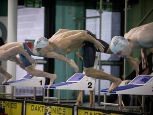 Picture By Peter Frankland. 12-10-19 Swimming at St Sampson's High School. GASA 100m Sprint Gala. Miles Munro, 23 (26050784)
