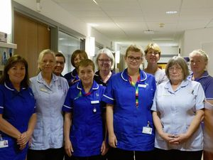 Picture By Cassidy Jones. 15-08-21 Jo Boyd and Les Bourgs Hospice Nursing Team Pride.. (29879617)