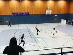 Watch German youth player score wondergoal in U11 tournament