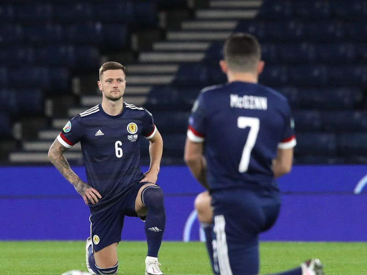 Scotland to take knee in solidarity with England before Euros clash at Wembley