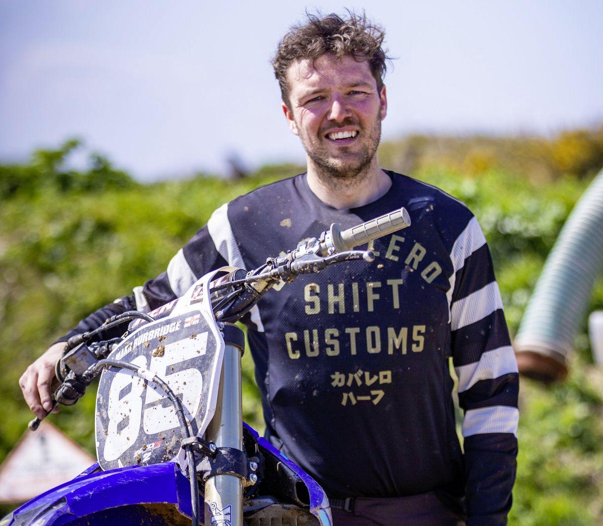 New motocross section captain Mark Burbridge.      (29451123)