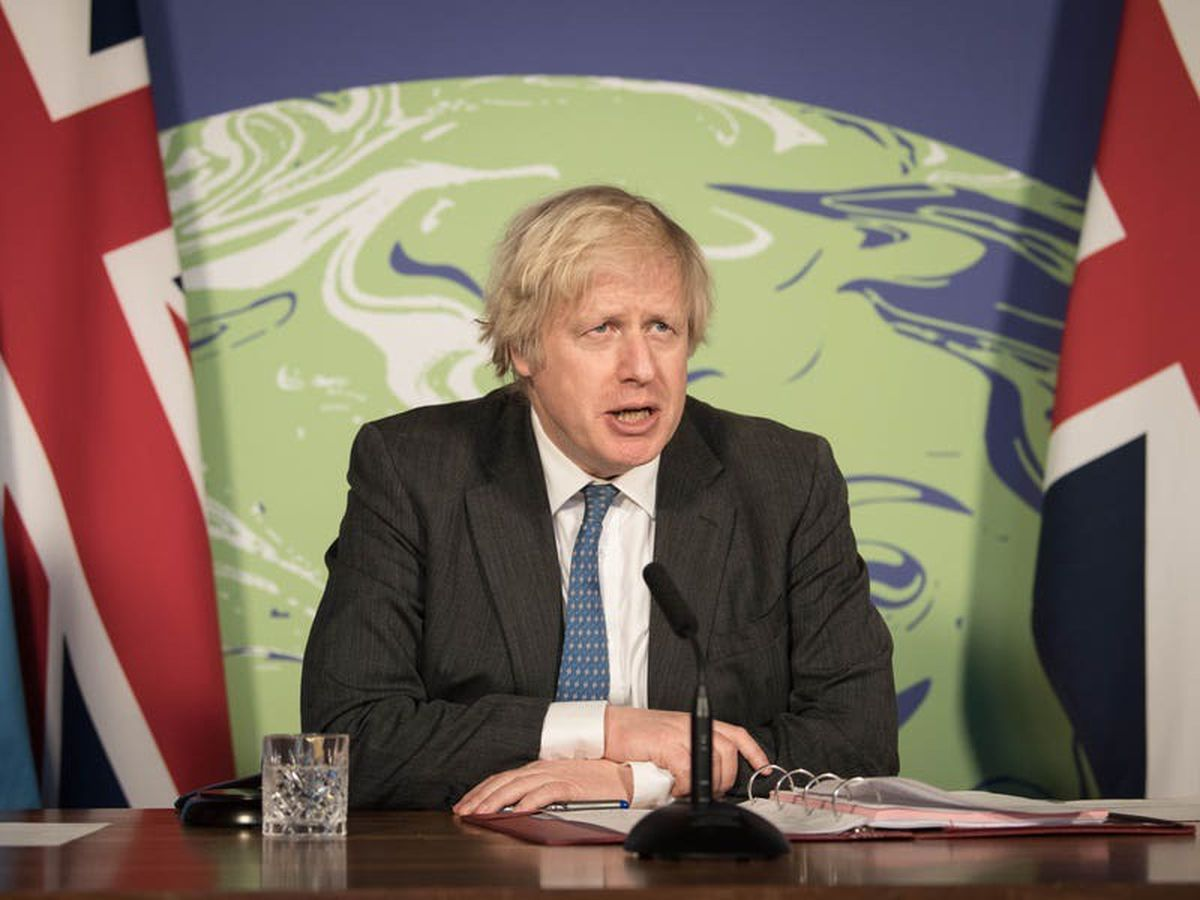Johnson warns climate change threatens global security
