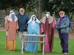 All is quiet as nativity scene vandalised last year goes west
