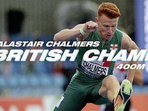 Alastair Chalmers has won the British Athletics Championships 400m hurdles title. (Picture: British Athletics, 28657514)