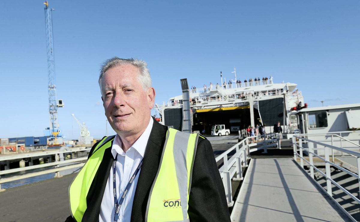 Condor Ferries CEO Paul Luxon. (Picture by Adrian Miller, 29295159)