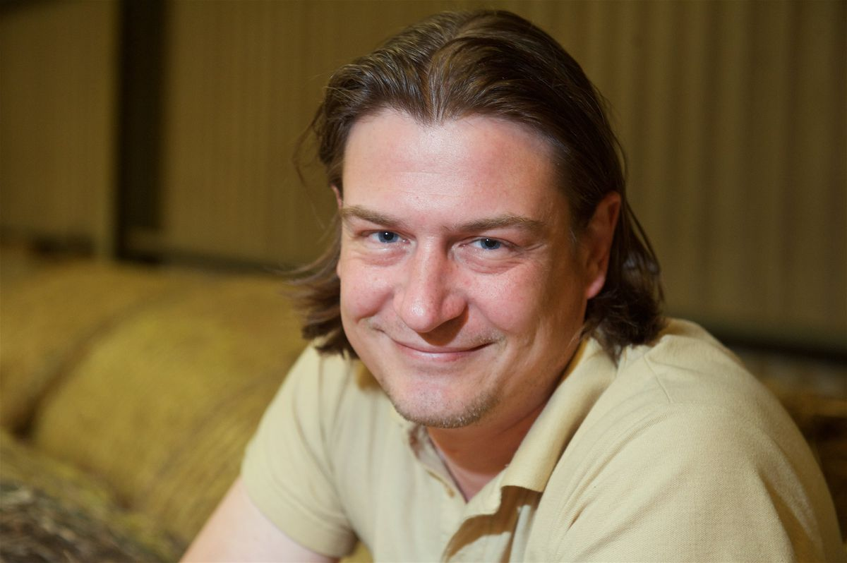 Chris Callaghan, chief science officer of Jersey Hemp. (Picture by Rob Currie, 21281122)