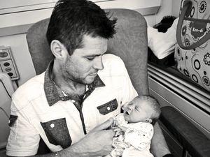 Carl Ward with daughter Scarlett. (28367276)