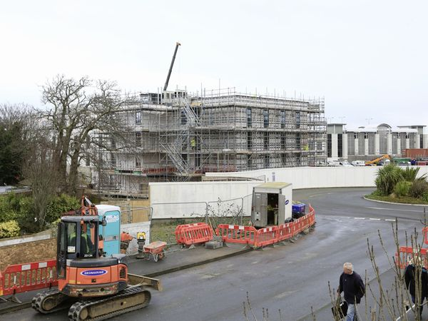 Work on the building of a Premier Inn at Admiral Park will not be held up despite the financial difficulties faced by parent company Whitbread due to the coronavirus pandemic.