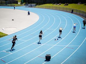 Running up the events: Footes Lane will see 13 track and field meets this season, despite the lockdown. (Picture by Sophie Rabey, 28410991)