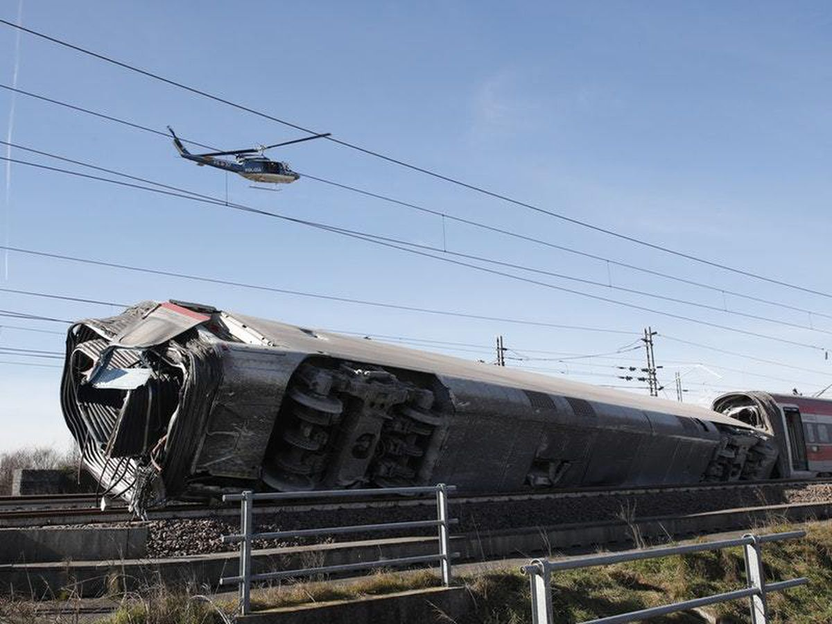 Two killed in high-speed train crash in Italy