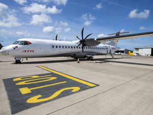 The ATR with ClearVision which came to Guernsey in the summer. (Picture by Steve Sarre, 21793792)