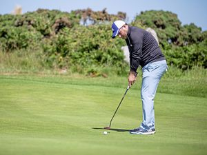Picture By Peter Frankland. 20-06-19 Investec 72 hole golf comp at L'ancresse. Jamie Blondel. (25006642)