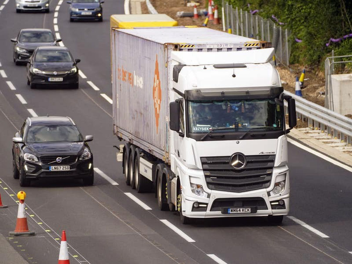 Wrong to say Brexit to blame for lorry driver shortage, says Transport Secretary