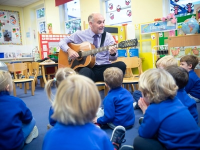 Instrument introduction for pre-school