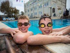Students dive in for early start to the Skipton Swimarathon