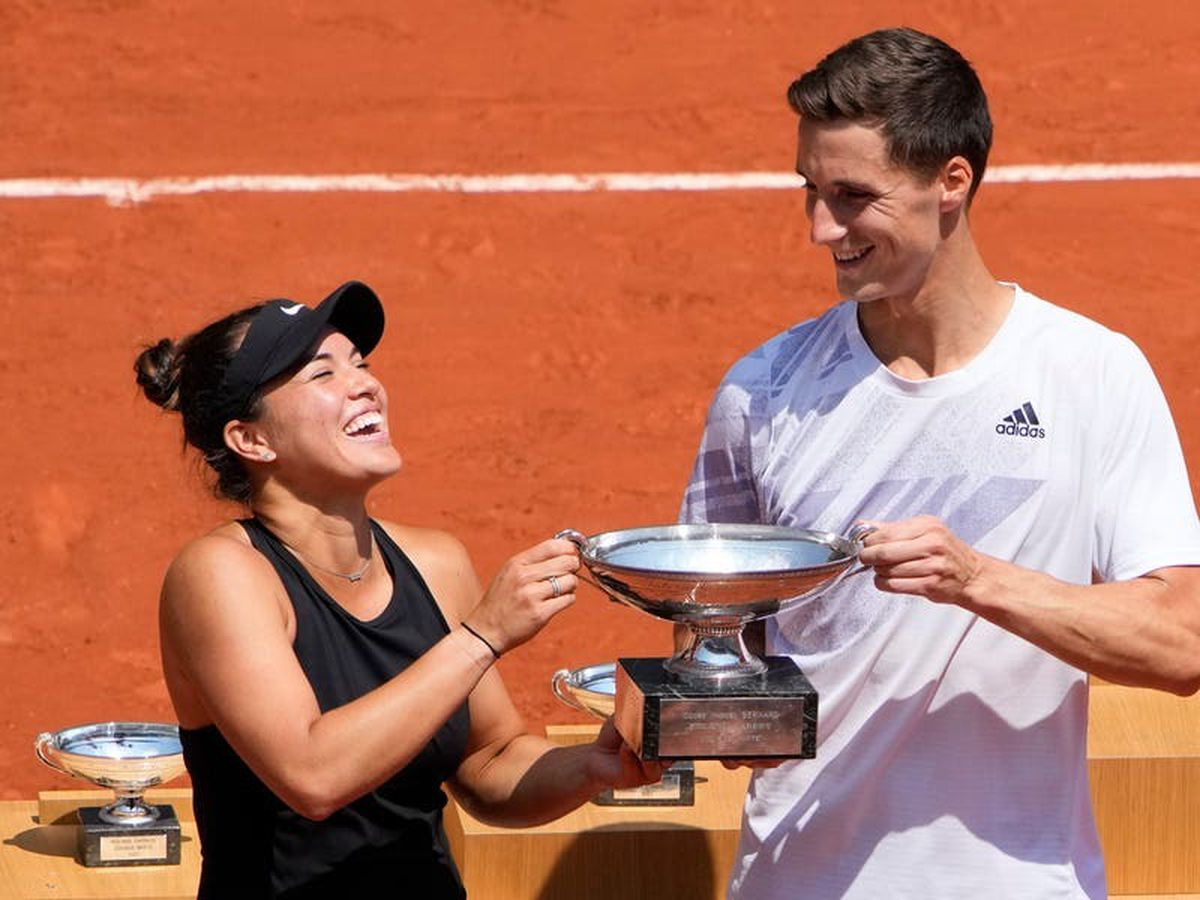 Joe Salisbury ends Britain's French Open wait with mixed doubles success
