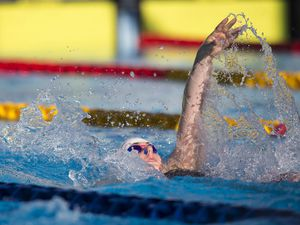 Picture By Peter Frankland. 10-07-19 Island Games 2019 Gibraltar. IG 2019. Swimming. Tatiana Tostevin. (26206528)
