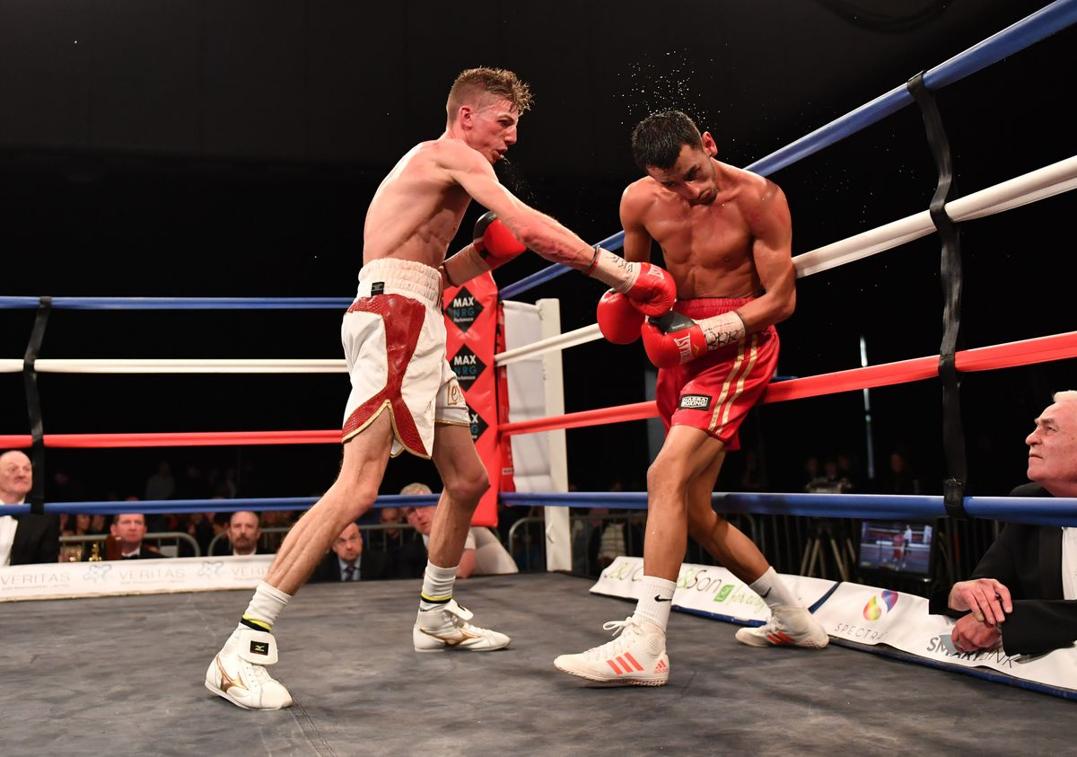 Guernsey boxer Brad Watson won the English super-flyweight title by beating Loua Nassa in Sheffield in his last pro bout. He returns to the ring for the first time in 13 months tomorrow in London, this time at bantamweight. (24133771)