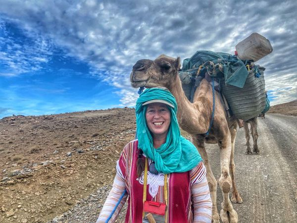 Explorer documents impact of Covid-19 on nomadic people with Morocco trek