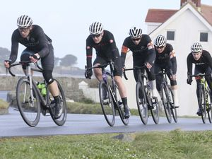 Pic by Adrian Miller 01-03-20 .   First cycling road race of the year atat L'Eree circuit (27325735)