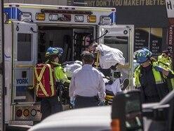 Nine dead after van hits pedestrians in Toronto