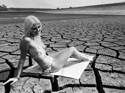 In Pictures: Heatwave hosepipe ban harks back to 1976 drought