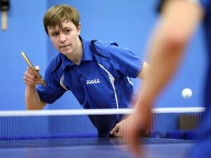 Man of the match against Cardiff: Joshua Stacey produced a fine win over the England No. 72, Dean Cundy.(19779400)