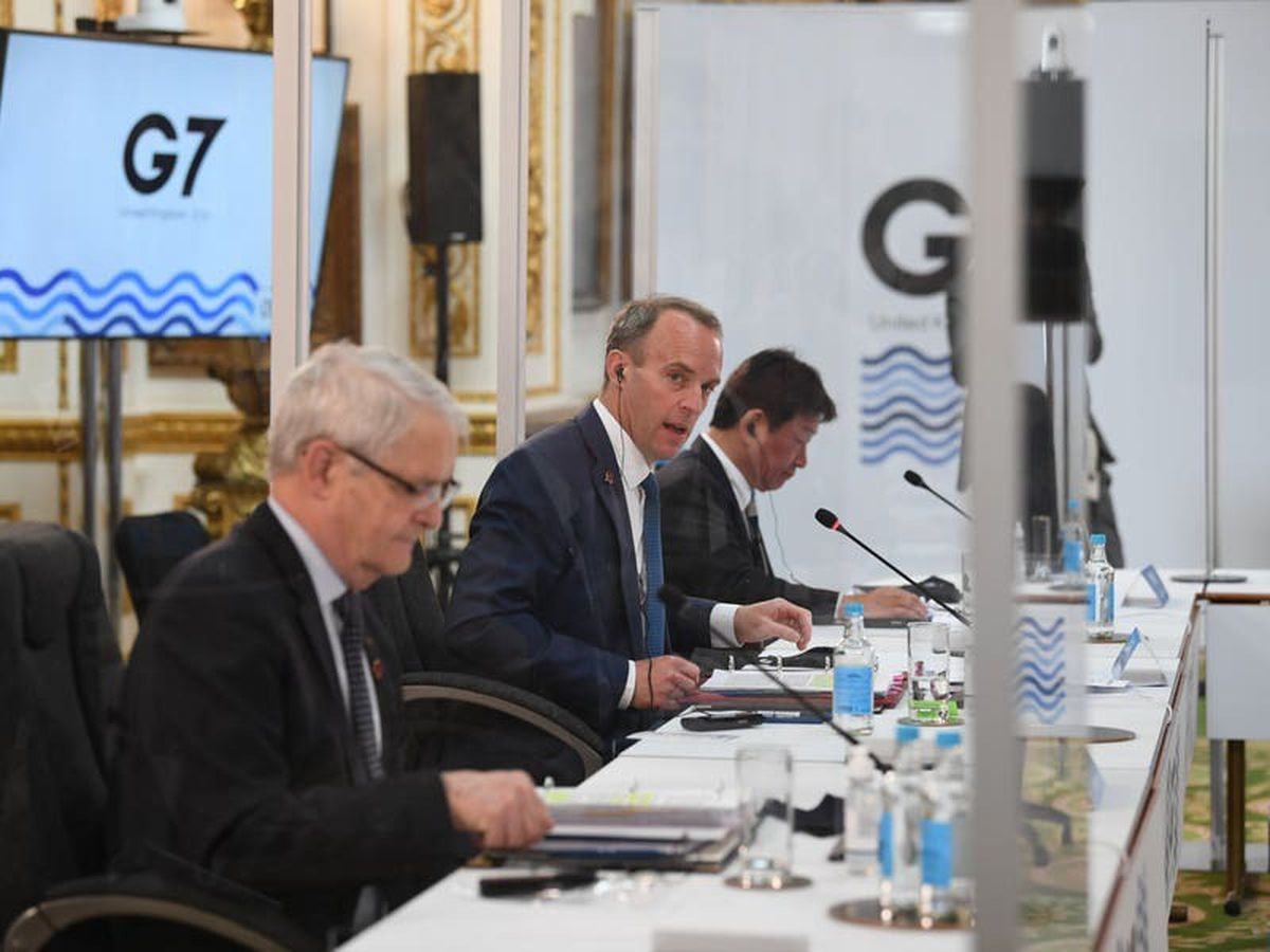 Coronavirus measures in place as G7 foreign ministers meet