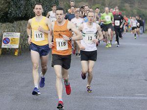 Pic by Adrian Miller 01-03-20 .  .Imperial Torteval.Pleinmont 10 mile running race. (27325803)